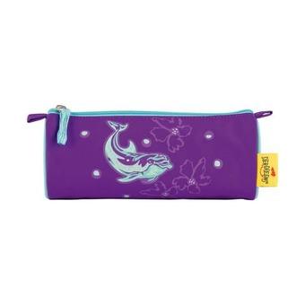 Ранец Ergoflex XL Серебристый дельфин