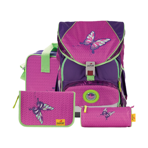 Ранец Ergoflex XL Розовая бабочка