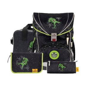 Ранец Ergoflex Зеленый динозавр