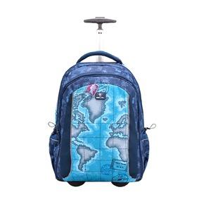 Рюкзак на колесах Easy-Go World Map