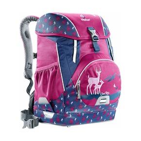 Рюкзак школьный Deuter One Two с наполнением Пурпурный олень, 5 предметов