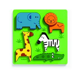 Пазл-сортировка Животные сафари