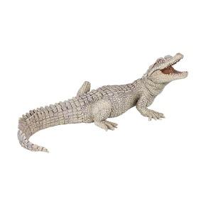 Белый крокодильчик