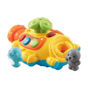 Подводная лодка, пускающая фонтан