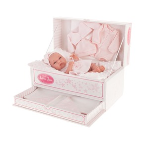 Кукла-младенец Фиона в розовом, 33 см