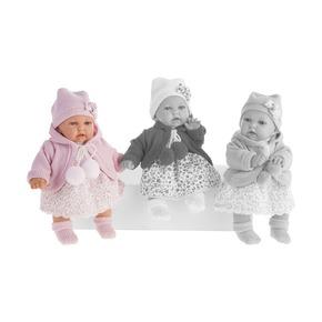 Кукла Азалия в розовом, озвученная, 27 см