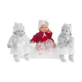 Кукла Азалия в красном, озвученная, 27 см