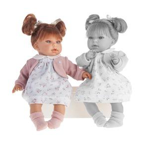 Кукла Лорена в белом, озвученная, 37 см