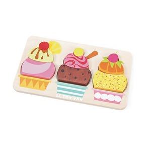 Пазл Мороженое с фруктами
