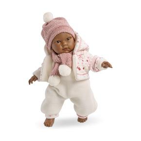 Кукла Кукуй, мулат, 30 см