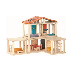 Кукольный дом с мебелью