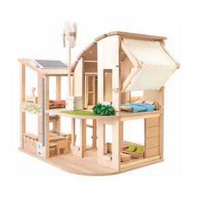Эко-кукольный дом с аксессуарами