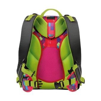 Рюкзак Ikon розовая клетка