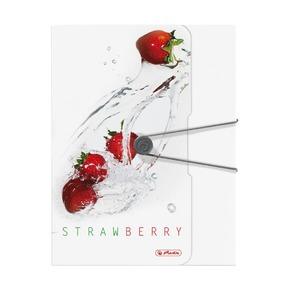 Папка с резинкой Fresh Fruit Клубника, А4
