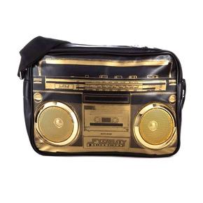 Сумка G-Force Shoulder Bag, черный/золотой