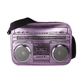 Сумка G-Force Shoulder Bag, фиолетовый металлик
