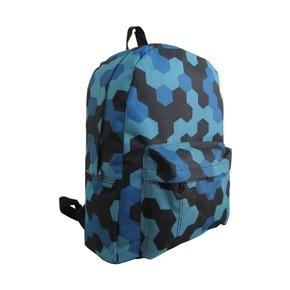 Рюкзак Мозаика синяя, мульти