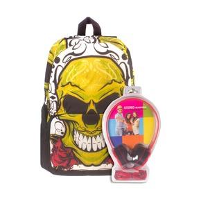 Рюкзак 3D Bags Роджер-Роза, с наушниками