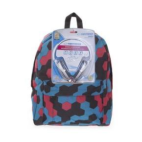 Рюкзак 3D Bags Мозаика, с наушниками