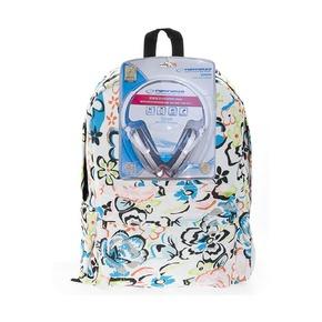 Рюкзак 3D Bags Цветы, с наушниками