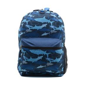 Рюкзак Sharks с наушниками, синий