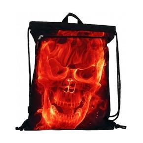 Сумка-рюкзак Devil Mr.Peterson, с маской с капюшоном, черный