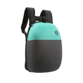 Рюкзак Zipit Shell, черно-бирюзовый