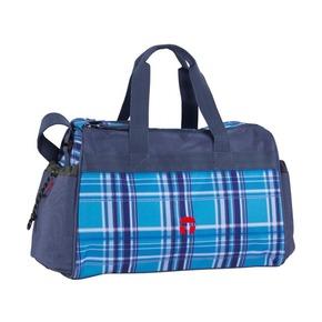 Спортивная сумка Виола, голубая
