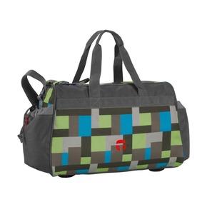 Спортивная сумка Квадрат, зелёная